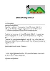 Fichier PDF autorisation parentale assoc