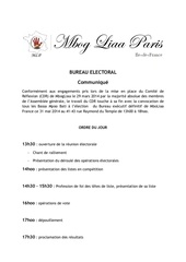 bureau electoral