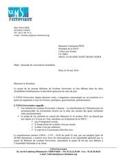 demande de dci 26 mai 2014