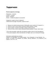 Fichier PDF recette bbq