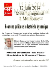 affiche meeting 12 06 2014