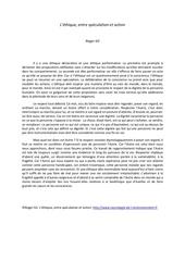 l ethique entre speculation et action mai 2014 3