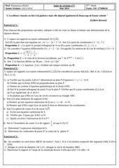 sujet de revision n 5 bac math 2
