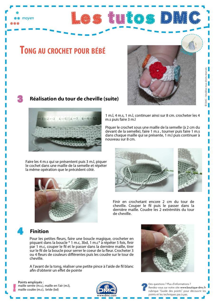 e29bfc8670c Tong au crochet pour bébé - Fichier PDF