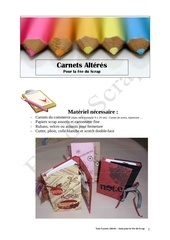 carnets alteres