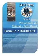 brochure formule 2 doublant