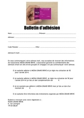 Fichier PDF bulletin d adhesion 2014