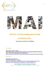 mai 2014 un mois de pillage dans le monde