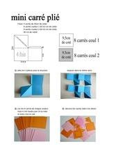 Fichier PDF tuto mini album carre