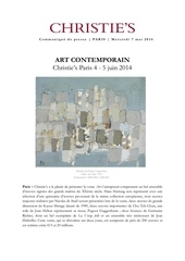 cp art contemporain 4 5 juin 2014