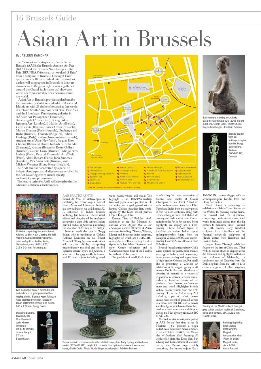 Aperçu du document The Asian Art Newspaper May 2014.pdf - page 1/3