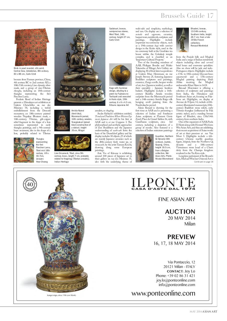 Aperçu du document The Asian Art Newspaper May 2014.pdf - page 2/3