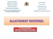 allaitement maternel