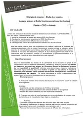 cap solidaire cdd analyse fonction employeur