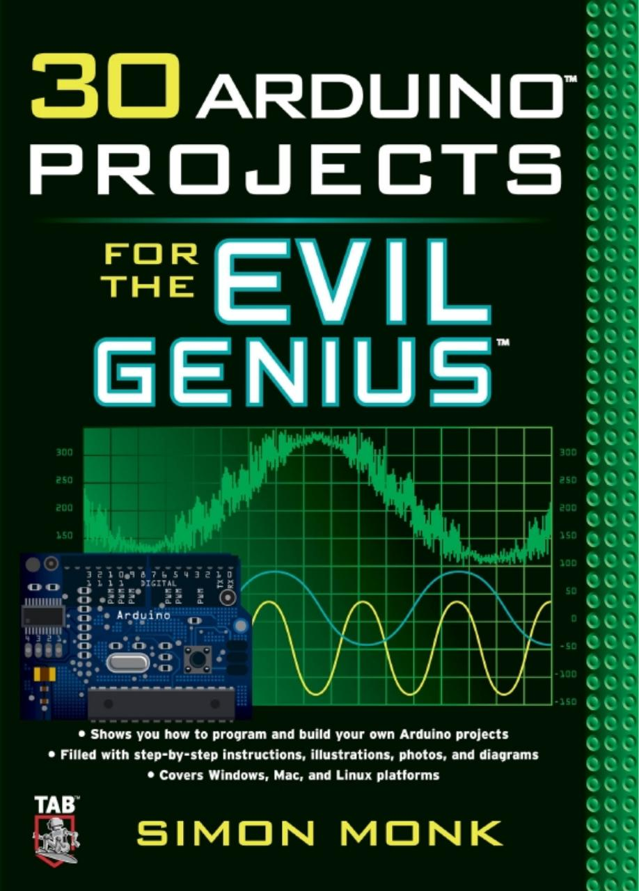 30 Arduino projects for the evil genius - 2010 - Simon Monk.pdf - page
