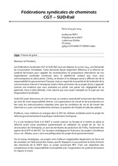 preavis de greve 10 juin 2014