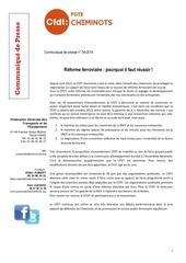 Fichier PDF communique presse reforme du ferroviaire pourquoi il faut reussir 2