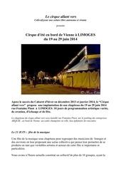 dossier presse cirque allant vers limoges juin 2014