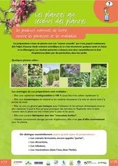 les plantes au secours des plantes