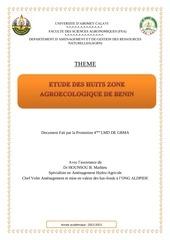 135297918 les 8 zone agroecologique du benin