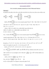 correction maths 2014 b m