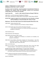 ehess programme colloque