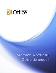 microsoft word1 2010 product guide