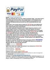 information du service paypal 2