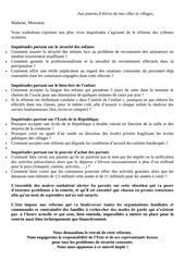 Fichier PDF lettre aux parents