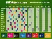 calendrier coupe du monde bresil 2014