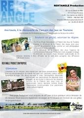 Fichier PDF diffusion 26min tv tours