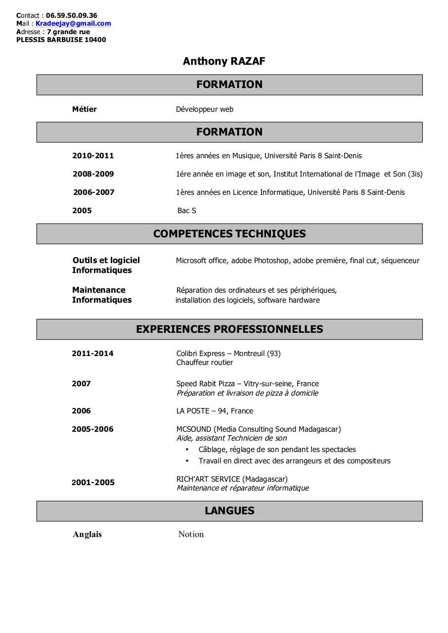 razaf cv 2014 doc par anthony razaf - razaf cv 2014 pdf