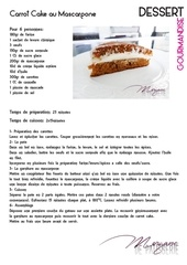 recette type carrot cake