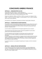 reglement jeu concours facebook instant gagnant juin 2014