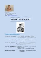 Fichier PDF cv dylan radio