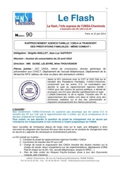 flash n 90 rapprochement agence famille cmga flash juin 2014
