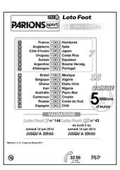 Fichier PDF liste a4 15 14043