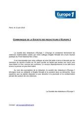 Fichier PDF communique sdr europe 1 13 06 2014