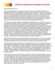 Fichier PDF conflit de separation et maladie de peau