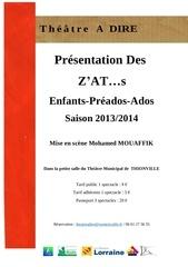Fichier PDF flyers enfants preados ados 2013 2014