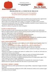 programme thilogne 1