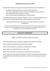 structure manif te 21 juin 2014