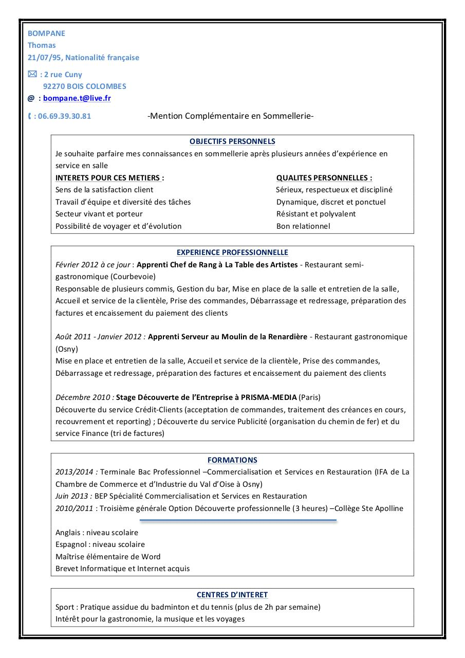 Aperçu du document CV THOMAS BOMPANE v3.pdf - page 1/1