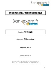 corrige all techno 2014 2