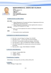 Fichier PDF cv amine ben sliman office