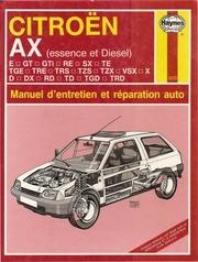 manuel d entretien et de reparation ax