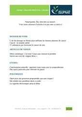revue presse isupnat juin 2014