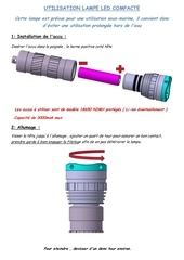 Fichier PDF utilisation lampe led compacte maj