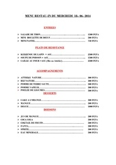 menu du 18 06 2014