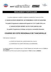 reglement tancarville 2014 v1